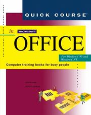 Cover of: Quick course in Microsoft Office for Windows 95 and Windows NT