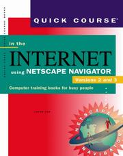 Cover of: Quick course in the Internet using Netscape Navigator