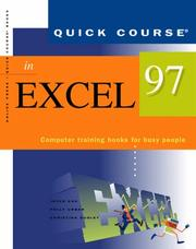 Cover of: Quick course in Excel 97