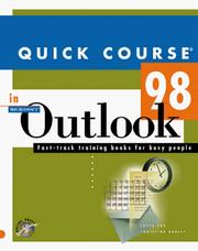 Cover of: Quick course in Microsoft Outlook 98