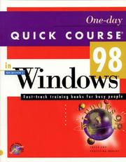 Cover of: One-day quick course in Microsoft Windows 98 | Joyce Cox