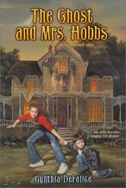 Cover of: The ghost and Mrs. Hobbs
