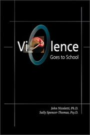 Cover of: Violence Goes to School | Sally Spencer-Thomas