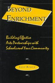 Cover of: Beyond enrichment | Jane Remer