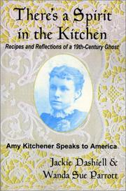 Cover of: There's a spirit in the kitchen : recipes and reflections of a 19th-century ghost