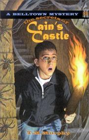 Cover of: The secrets of Cain's castle