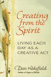 Cover of: Creating from the Spirit