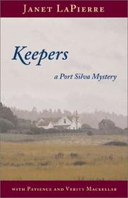 Cover of: Keepers: a Port Silva mystery with Patience and Verity Mackellar