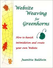 Cover of: Website Weaving for Greenhorns