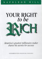 Cover of: Your Right to be Rich