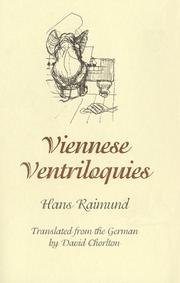Cover of: Viennese ventriloquies | Hans Raimund