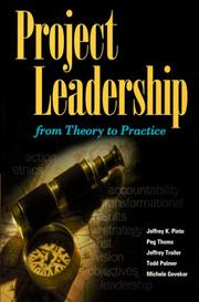Cover of: Project Leadership: From Theory to Practice