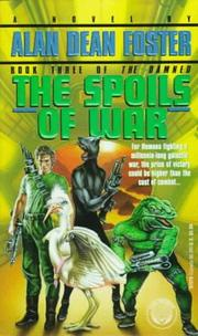 Cover of: The Spoils of War (The Damned, Book 3)