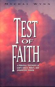 Cover of: Test of faith