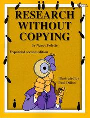 Cover of: Research Without Copying