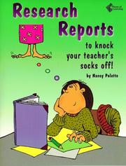 Cover of: Research Reports to Knock Your Teacher