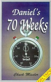 Cover of: Daniel's 70 Weeks with Booklet (Prophetic Updates)
