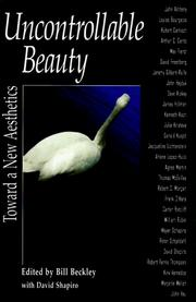 Cover of: Uncontrollable beauty