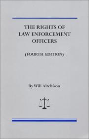 Cover of: The rights of law enforcement officers