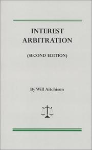Cover of: Interest arbitration