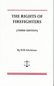 Cover of: The rights of firefighters
