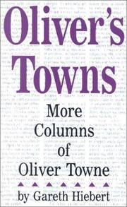 Cover of: Oliver's Towns
