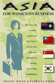 Cover of: Asia for women on business