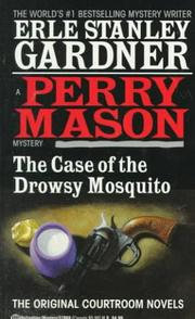 Cover of: The case of the drowsy mosquito