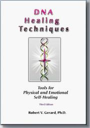 Cover of: DNA healing techniques
