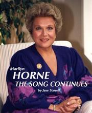Cover of: Marilyn Horne: The Song Continues (Great Voices)