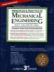 Cover of: Principles and Practice of Mechanical Engineering Review | Frank Hatfield