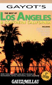 Cover of: The Best of Los Angeles & Southern California (6th Edition) | Alain Gayot