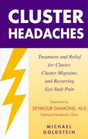 Cover of: Cluster Headaches | Michael Goldstein