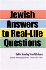 Cover of: Jewish Answers to Real-Life Questions
