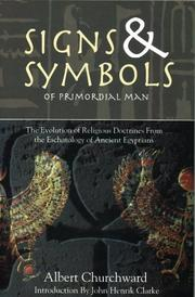 Cover of: The signs and symbols of primordial man
