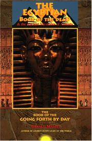 Cover of: The Egyptian book of the dead & the ancient mysteries of Amenta