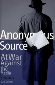 Cover of: Anonymous source