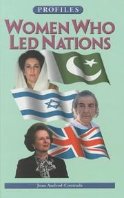 Cover of: Women who led nations | Joan Axelrod-Contrada