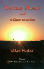 Cover of: Texas heat and other stories