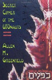 Cover of: Secret cipher of the UFOnauts
