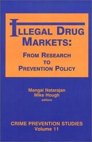 Cover of: Illegal drug markets |