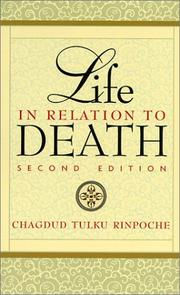 Cover of: Life in Relation to Death