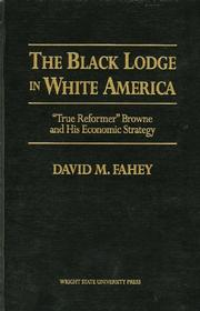 Cover of: The Black lodge in white America