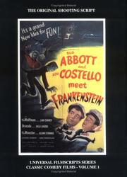 Cover of: MagicImage Filmbooks presents Abbott and Costello meet Frankenstein |