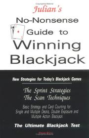 Cover of: Julian's no-nonsense guide to winning blackjack