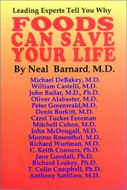 Cover of: Foods Can Save Your Life | Neal D. Barnard