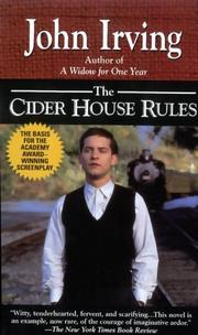 Cover of: The cider house rules: a novel