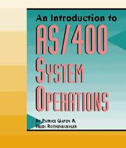 Cover of: An introduction to AS/400 system operations