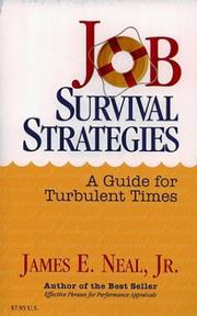 Cover of: Job survival strategies | James E. Neal