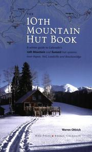Cover of: The 10th Mountain Hut Book
